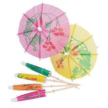 10 шт. креативное оформление коктейлей зонтик-формы бамбуковые палочки закуски, торт фруктовый знак символ зонтика вечерние аксессуары