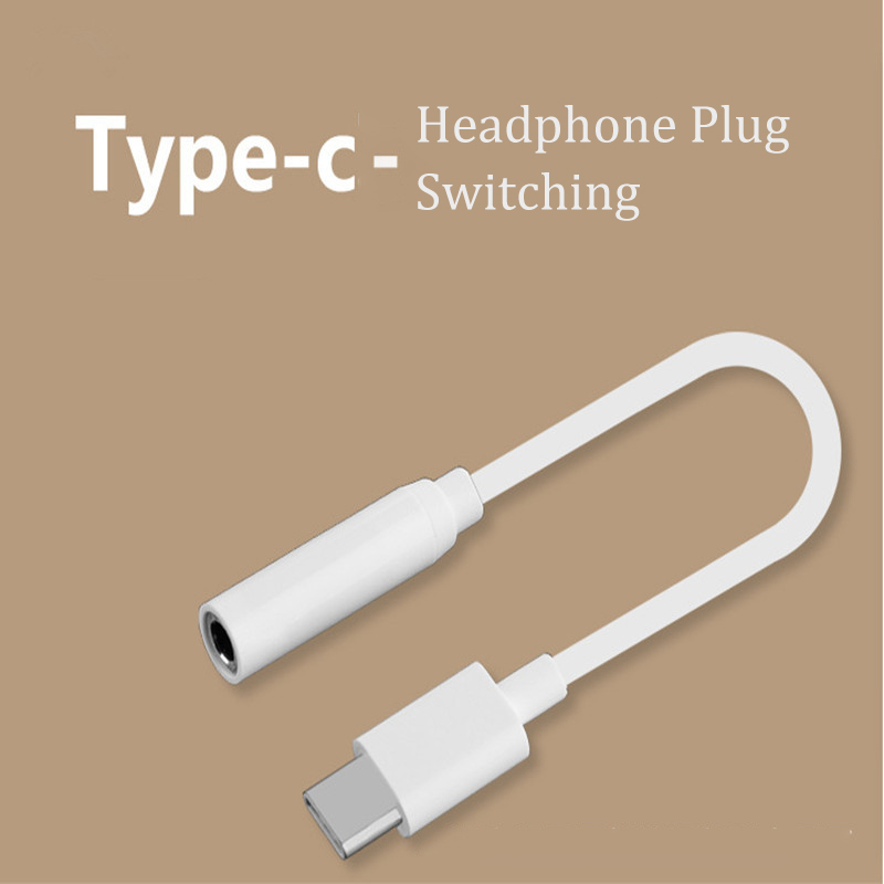 Type - C To 3.5mm Headphone Adapter Cable Usb Male To Female 3.5mm Aux Audio Jack For Xiaomi Mi6 For Huawei Matte 20 P20 Pro