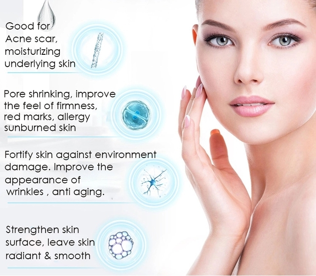 100ML Hyaluronic Acid Serum Facial Acido Hialuronico Bioaqua Essence Hyaluronik Asit Skin Face Serum Beauty Moisturizer 3