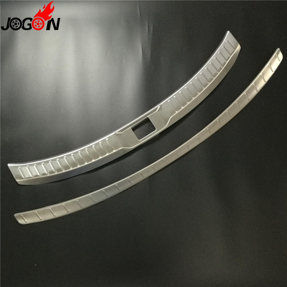 For Mazda CX 9 CX9 2017 2018 Car Styling Interior Exteror Rear Trunk Protector Sill Plate