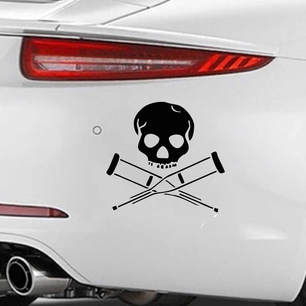 Пиратская задница флаг с черепом стикер ТВ забавные виниловые автомобиль стикер декоративная переводная картинка аксессуары