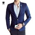 New England Estilo Mans Negócios blazer designs Brasão Único Breasted Engrossar Homem Ternos de Casamento de Luxo Casual mans casacos formais