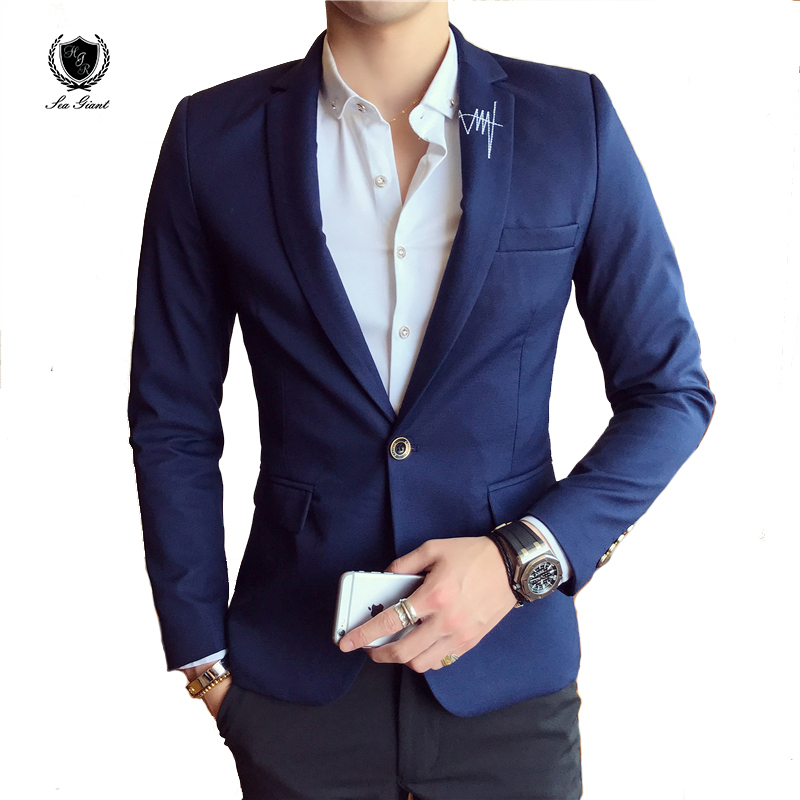 sea giant blazer Coat Suits Casual mans formal jackets