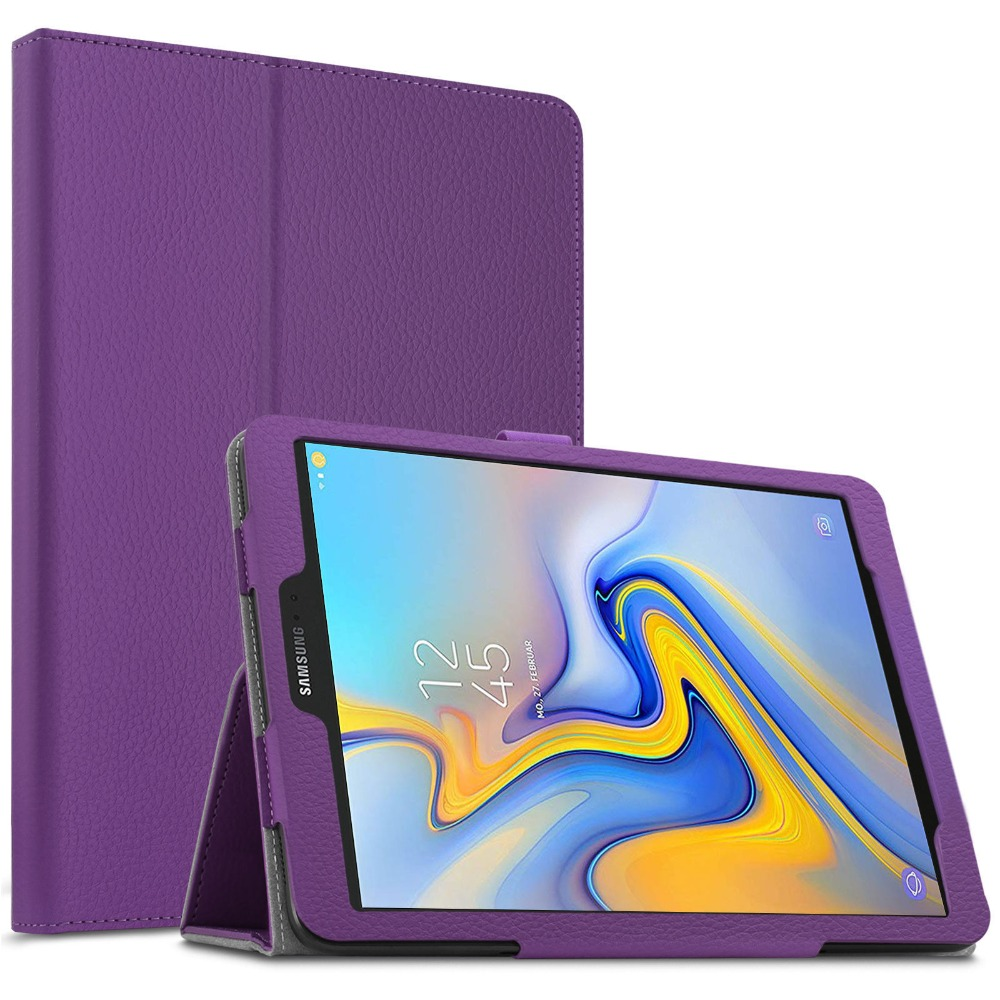 <font><b>Tablet</b></font> <font><b>Case</b></font> For <font><b>Samsung</b></font> <font><b>Galaxy</b></font> <font><b>Tab</b></font> <font><b>S4</b></font> <font><b>10.5</b></font> Inch T830 SM-T835 PU Leather Smart <font><b>Case</b></font> Stand Sleep Wake UP Lichi <font><b>Tablet</b></font> Cover Para image
