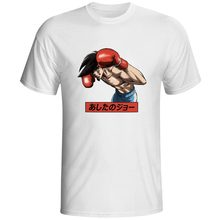 Anime Tomorrow's Joe T Shirt Japanese Cartoon Rock Pop Skate Short Sleeve T-shirt Casual Cool Fashion Style Novelty Unisex Tee цена