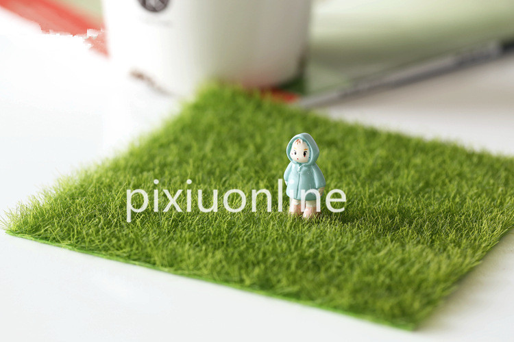 1pc DS58 Emulation Grass Mat Green Artificial Lawns 49x70cm Carpets Fake Garden Moss for Floor Decoration Free Shipping Russia uland privacy fence garden wall balcony decoration artificial boxwood hedge faux plant grass greenery panel mat 6 pcs 50x50cm