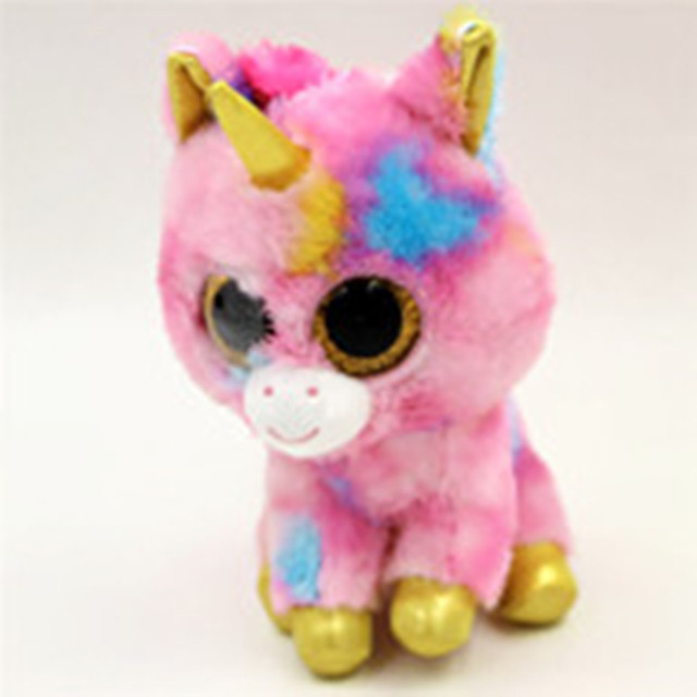 7b411d34c55 Ty Beanie Boos Big Eyes Small Unicorn Plush Toy Doll Kawaii Stuffed Animals  Collection Lovely wide variety of styles L418