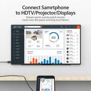 Image 4 - Кабель Vention USB C HDMI 4K Type C к HDMI, адаптер HDMI для Huawei P20 Mate 10 Pro MacBook Pro Air ipad Pro Thunderbolt 3 1 м 2 м