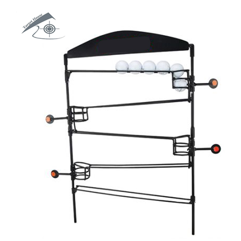 Airgun Shooting Target W. BallDrop /Also For Airsoft Paintball /Improving Hunting Shooting Tactical Skill/Outdoor &Indoor