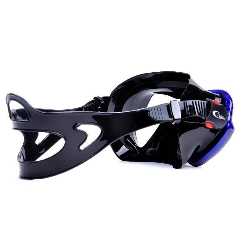 Máscara de buceo profesional de silicona para adultos Buceo Buceo - Deportes acuáticos - foto 6