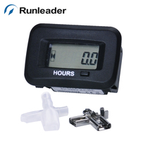 Runleader RL HM038H Snap Digital Hour Meter For AC DC Brush Cutter Chiper ATV Boat Tractor