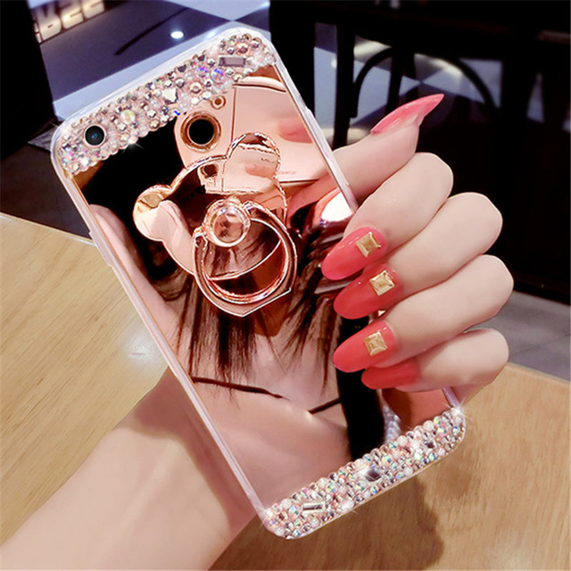 Mirror view clear case For Huawei honor 9 10i 8X 7a pro 8a P30 P20 Mate 20 10 lite Y6 Y9 2019 Y5 Y7 2018 P smart Z Phone cover