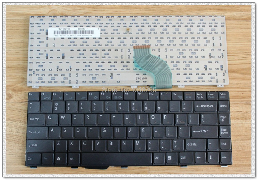 US keyboard for SONY Vaio VGN-SZ27CP VGN-SZ28CP VGN-SZ31CP VGN-SZ32CP English laptop keyboard brand new original keyboard forsony vaio vgn nr vgn ns vgn nr ns with frame service us version black colour us layout