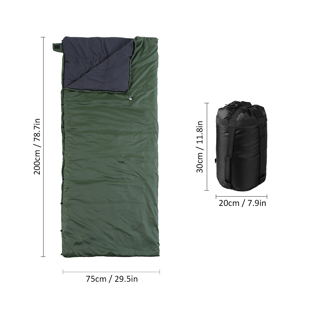 Image 5 - Multifunctional Camping Hammock Sleeping Bag Underquilt Lightweight Camping Quilt Packable Full Length Under Blanket-in Sleeping Bags from Sports & Entertainment