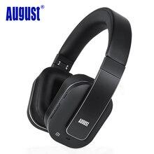 Agosto EP750 aptX CNA Activo de Cancelación de Ruido Auriculares Inalámbricos Bluetooth con Micrófono Bluetooth Headset para el Transporte Aéreo