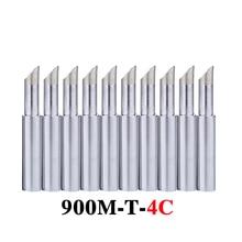 Soldering-Iron-Tip 900M-T-4C 936 for BGA 10pcs/Lot Lead-Free