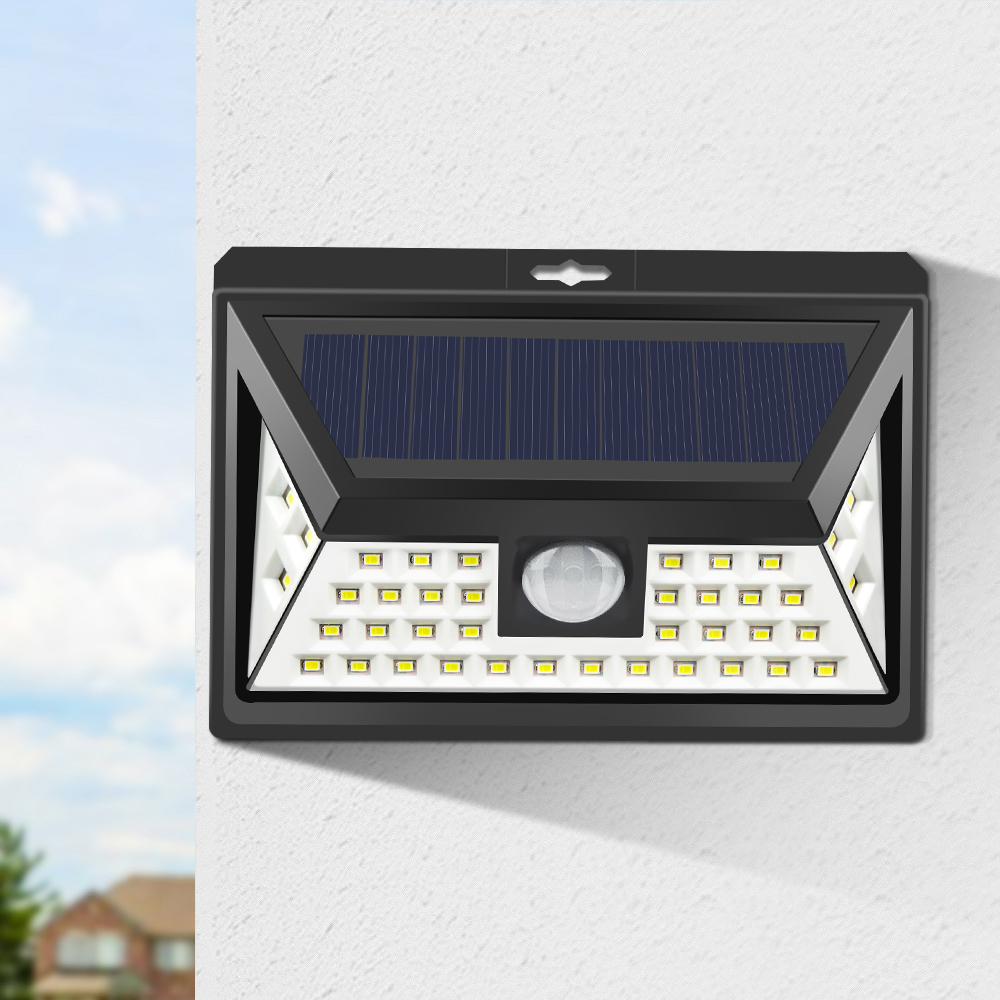 Licht & Beleuchtung Led Outdoor-wandlampe Lemonbest Außenbeleuchtung Empfindliche Sensor Solar Lampe Wasserdichte Led Energiesparende Garten Im Freien Sicherheit Nachtlampe