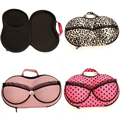 Sexy Lady's Underwear Case Travel Boxes Organizer Fashion Stylish Portable Lingerie Storage Box For Bra Bag Carries Organizador