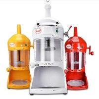 220V Commercial Electric Soft Ice Cream Machine Automatic Yogurt Machine Fancy Continuous Ice Crusher EU AU