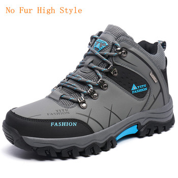 39-47 Men Boots Anti-skidding Winter Sho...