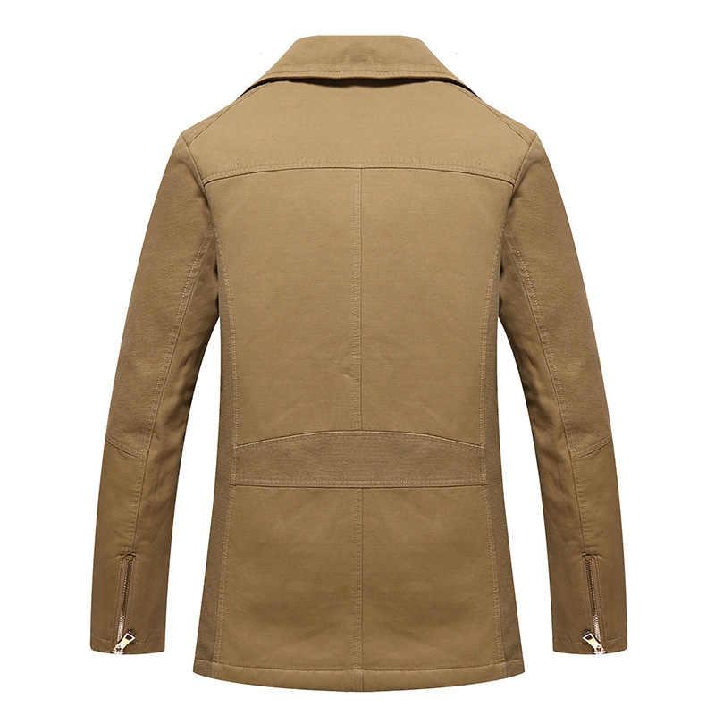 Männer Neue Graben Mantel Jacke Männer
