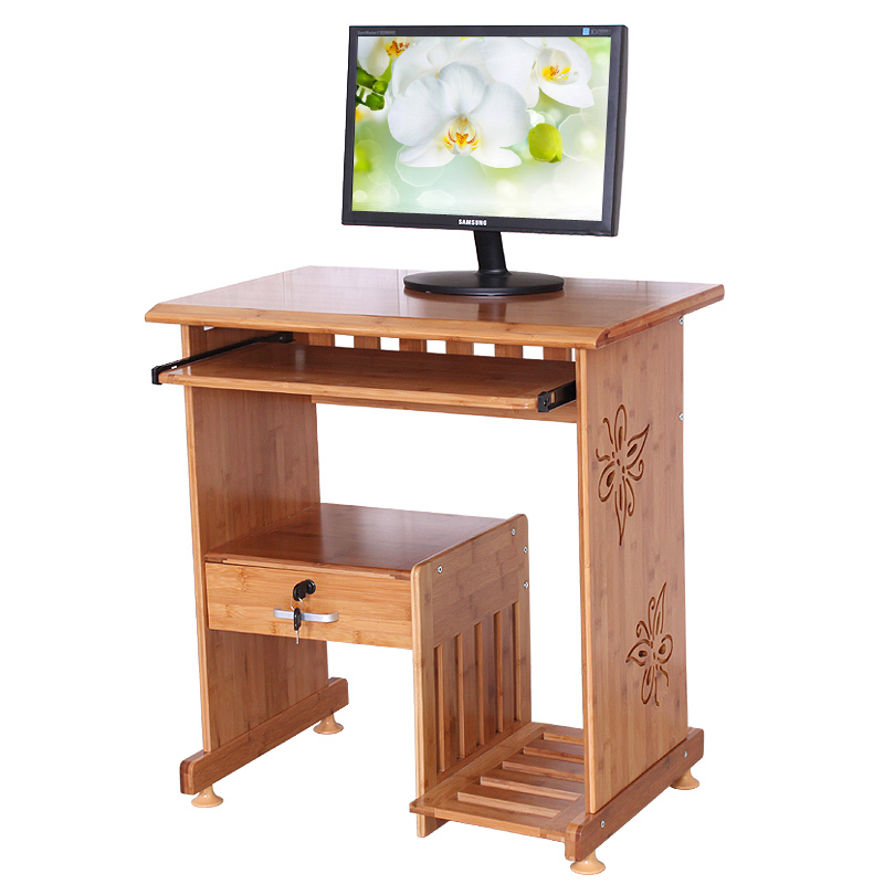 Environmental desktop computer desk wood desk desktop creative home ...