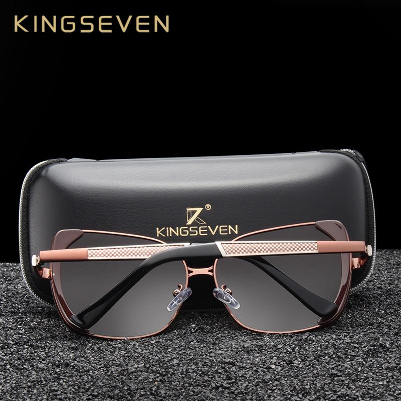 Kingseven Retro Sun Glasses Polarized Luxury Ladies Brand Designer Women Sunglasses Eyewear Oculos De Sol Feminino