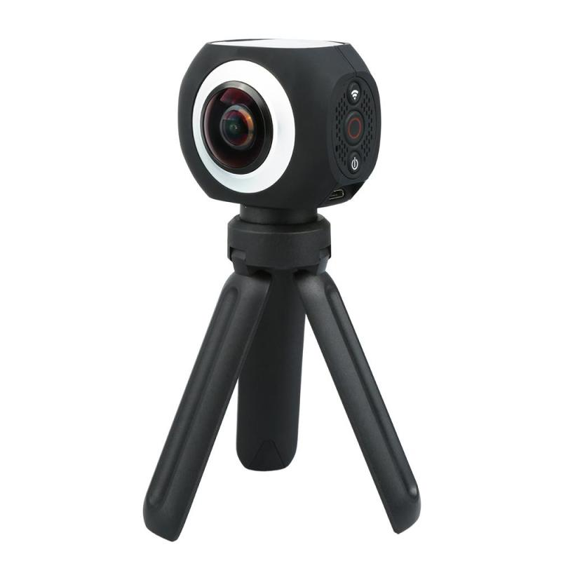 360 Degree Panoramic VR Camera 12MP Wifi UHD 4K 2.7K 1080P Wide Angle Fisheye Lens Mini Sport Action Camera App Control 360 camera hd panoramic mini camera wide dual angle fish eye lens action camera 3040 1520 usb sport