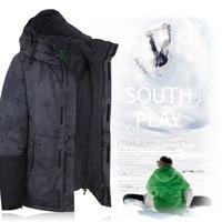 Newest Premium Korea Original Southplay Winter Waterproof 10,000mm Warming Jacket North Military