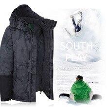 "Newest Premium Korea Original ""Southplay"" Winter Waterproof 10,000mm Warming Jacket – North Military"