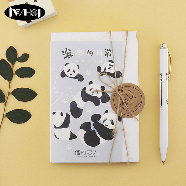 30 pcs Cute panda Postcard Cartoon animal paper card Valentine s Day     30 pcs Cute panda Postcard Cartoon animal paper card Valentine s Day New  Year Greeting Card Birthday