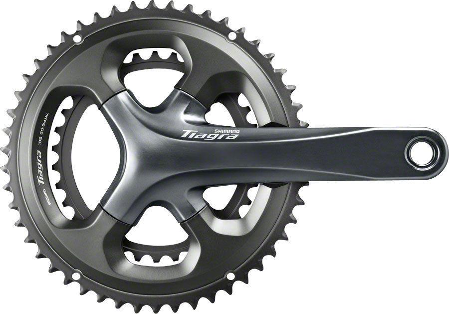 Shimano Tiagra 4700 10 Speed 170mm/172.5mm/175mm 50-34T 52-36T Crankset Road Bike Bicycle Crank with RS500 Bottom Bracket цены