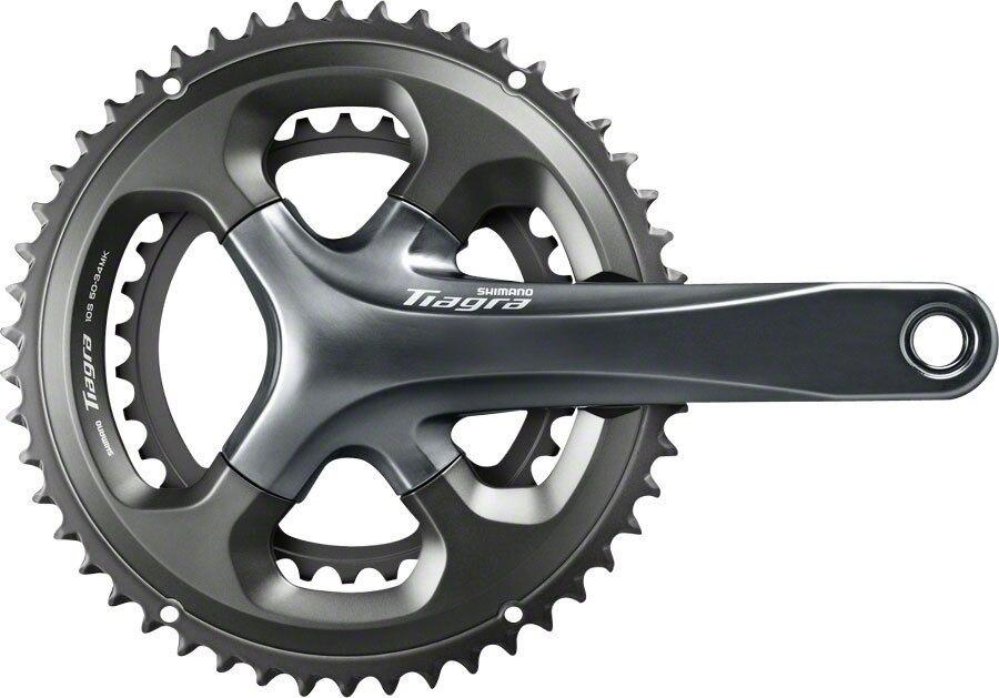 Shimano Tiagra 4700 10 Vitesse 170mm/172.5mm/175mm 50-34 t 52-36 t Pédalier de Vélo De Route Vélo Manivelle avec RS500 Pédalier