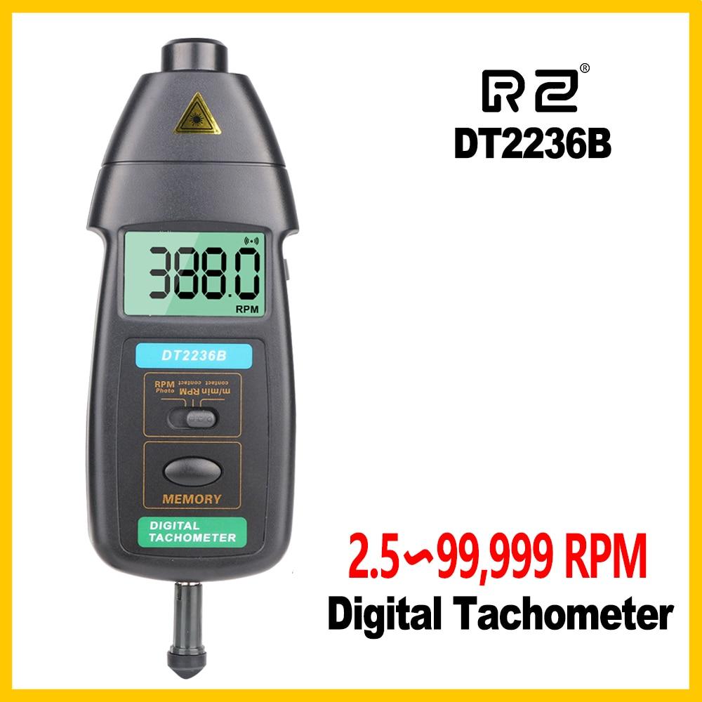 RZ DT2236B tahhomeeter Uus pinnakiiruse andur koos flöötide abil traadi kiiruse ja pikkuse mõõtmiseks
