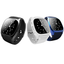 Watch sports Bluetooth smart luxury watch dial M26 digital sport watches for Andriod mobile phone SMS alert pedometer