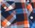 2017 Novo Botão de Lapela Para Baixo Ocasional Pescoço Mantas Verifica Camisas de Flanela Mulheres Manga Comprida Tops Blusa frete grátis S-144