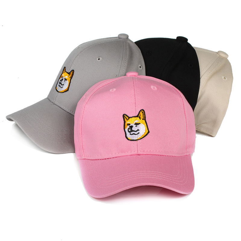 Harajuku Funny Baseball Cap Snapback Trucker Hat Men Hip Hop Dad Hats For  Women Dog Embroidery Animal Cartoon Caps Adjustable-in Baseball Caps from  Apparel ... b128dffdedb4