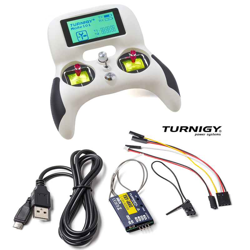 Turnigy Evolution Digital AFHDS Radio Remote Control System w TGY iA6C Receiver American hand left hand