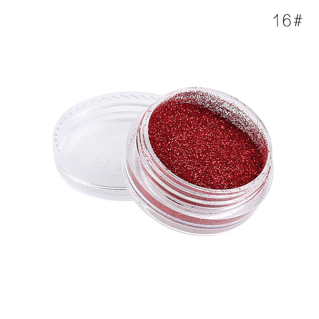 Drop Ship Glitter Eyes Makeup Powder Shimmer Face shadows Make up Shine Powder Nude 24 Colors Cosmetics TSLM1 2