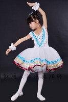 Ballet Dancing Skirt Girls Vintage Spaghetti Ballet Dresses Children princess dress Elegant Classic Swan Lake Dance Ballet Tutu