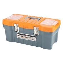 Ящик для инструмента STELS 90713 (Размер 28х23,5х56 см, пластиковый корпус, металлические замки, внутренний лоток, встроенные органайзеры в крышке)