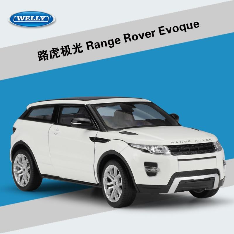 WELLY 1:24 High Simulator Metal Aurora Zemljište Range Rover Sport - Dječja i igračka vozila - Foto 2