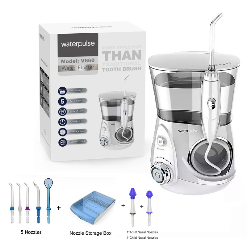 Clean Massage Tooth Floss Waterpulse V660R 700ml Oral Hygiene tools Oral Water Dental Flosser Irrigator