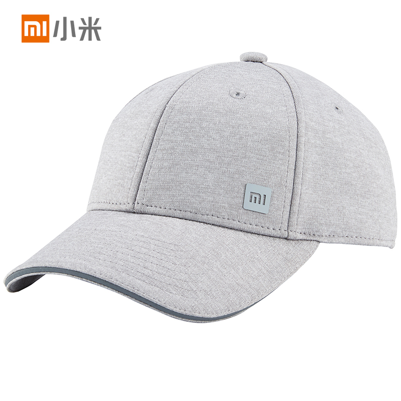 Xiaomi Mijia Baseball Cap Sweat Absorption Reflective Snapback Unisex Design Adjustable Design Fashion Accessory For Smart Home original xiaomi 3 colors baseball mi cap unisex popular design sweat absorption reflective snapback hip hop for men and women