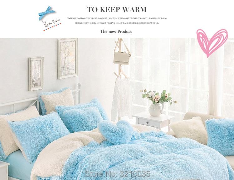 HTB1stXsmTnI8KJjSszbq6z4KFXa1 - Velvet Mink or Flannel 6 Piece Bed Set, For 5 Bed Sizes, Many Colors, Quality Material