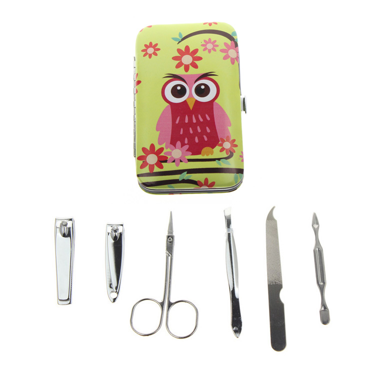 6Pcs / Set 6 Different Kinds Owl Үздік француздық - Маникюр - фото 5
