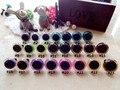 50 pairs (100 pcs) 15mm/18mm Colorido Mão-pintado Olhos de Segurança Para Amigurumi Boneca Cor misturada