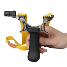 Toparchery Magnesium Alloy Powerful Professional Shooting Slingshot with Multiple Sight System Sling shot for Outdoor Practice