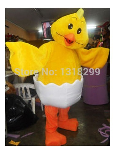 mascot Yellow Chick mascot costume fancy dress custom fancy costume cosplay mascotte theme carnival costume kits