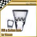 Nueva alta Calidad Para Nissan 200SX 240SX S15 Silvia RHD Carbon Fiber Radio & Gear Surround Consola de Reemplazo